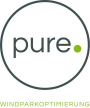 Logo of company pure